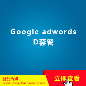 Google adwords D套餐
